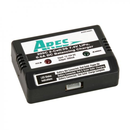 Ares Azsc205C 2-Cell/ 7.4V 0.5A Bal.Charger(Gamma)