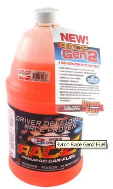 Byron Gen2 Race 2500 Nitro Fuel - 25% - Half US Gallon
