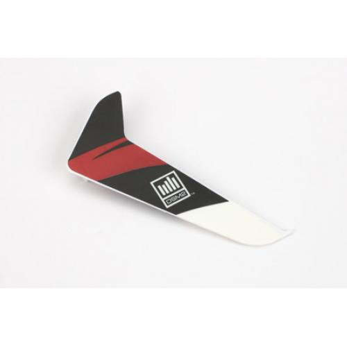 Blade 120SR Vertical Fin with Red Decal
