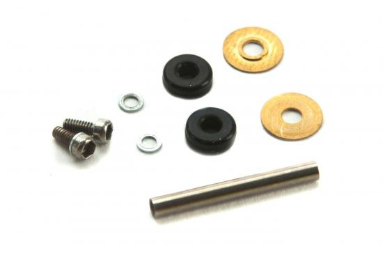 Blade mCP X BL Feathering Spindle with O-Rings - Bushings and Hardware
