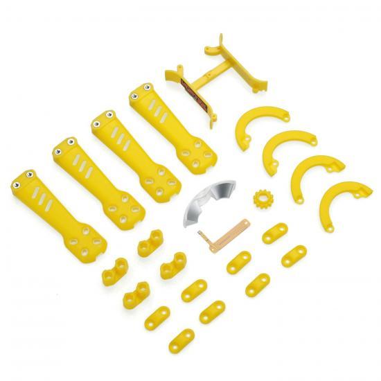 Plastic Kit - Yellow: Vortex 230