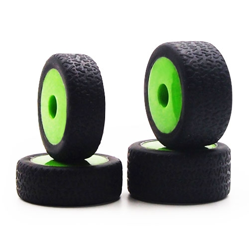 Carisma Gt24B Green Wheels/ Tyres Mounted