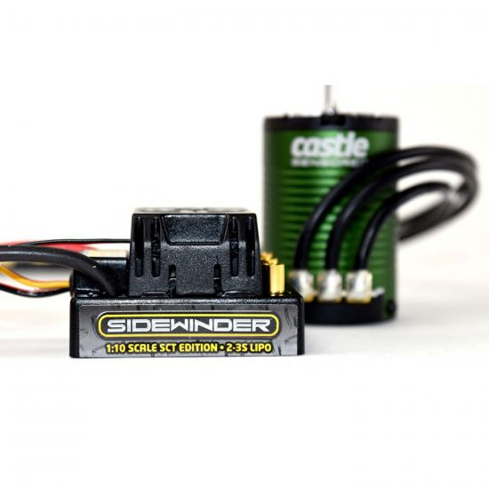 Castle Creations Sidewinder Waterproof Short Course SCT Combo With 1410-3800KV Motor