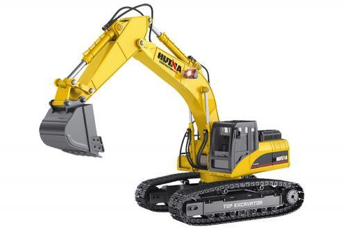 HuiNa 1:14 Alloy 23Ch 2.4G Excavator V3