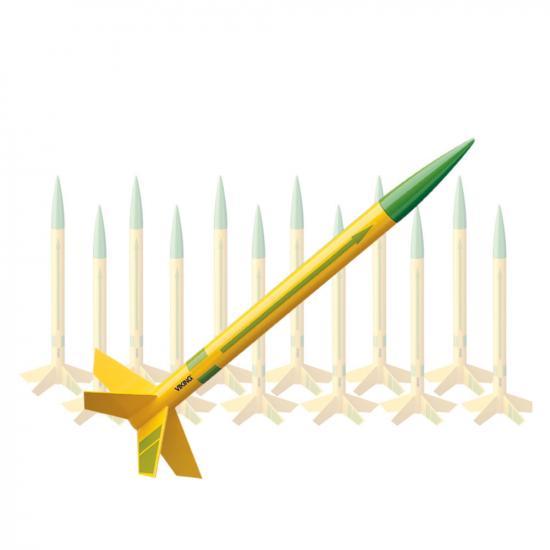 Estes Rocket - Viking (12pk) - Skill Level 1