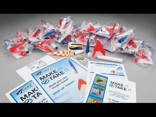 Estes Make-It-Take-It E2X Kit (25 Rocket Pack)