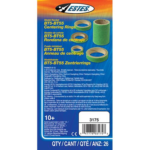 BT5-BT55 Centering Rings (26 pc)