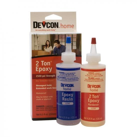Devcon 4.5oz 2 Ton Epoxy ((Bottle), Boxed)