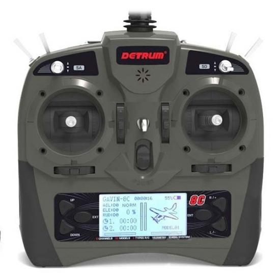 Dynam Detrum Gavin-8C Transmitter With RXC8 Receiver