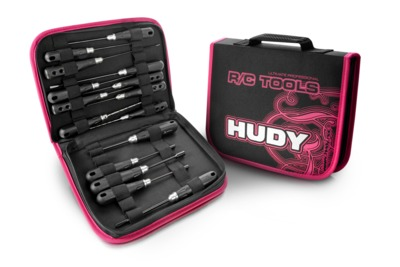Hudy Pt Set Of Tools + Carrying Bag - For All Cars