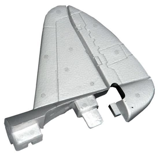 Dynam P47D Vertical Stabilizer