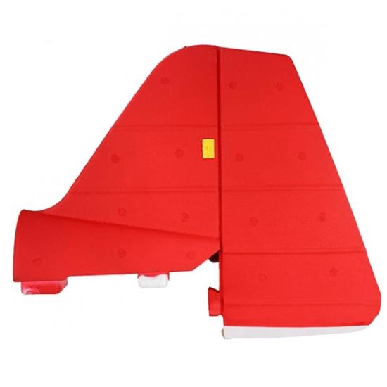 Dynam Pitts Vertical Stabilizer (Red)