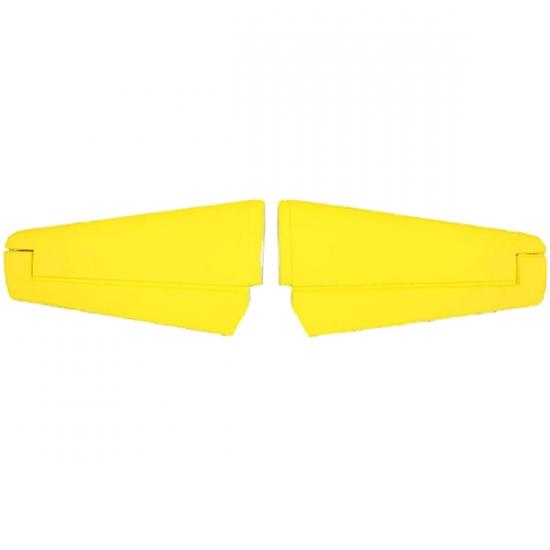 Dynam Cessna 550 Turbo Jet Elevator - Yellow