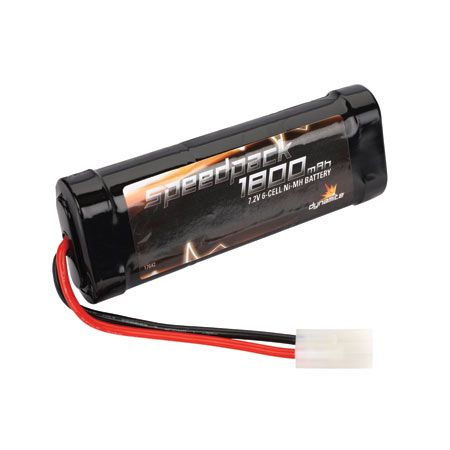 Speed Pack 1800mAh NiMH 6 Cell Flat Pack