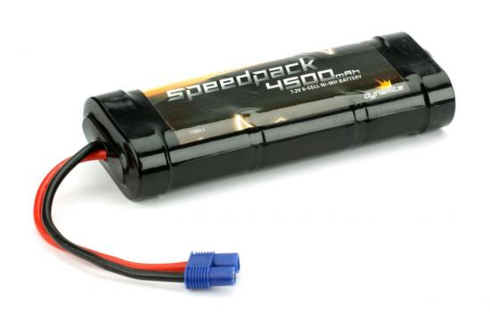 Dynamite Speedpack 4500mAh Ni-MH 6-Cell Flat with EC3 Connector