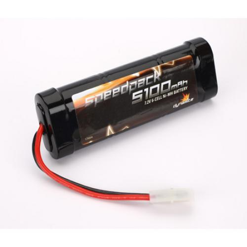 Speed Pack 5100mAh NiMH 6 Cell Flat Pack