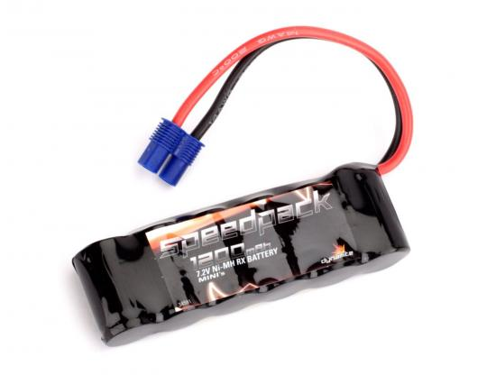 7.2volt 1200mah Ni-MH Battery with Long EC3 connector for Mini