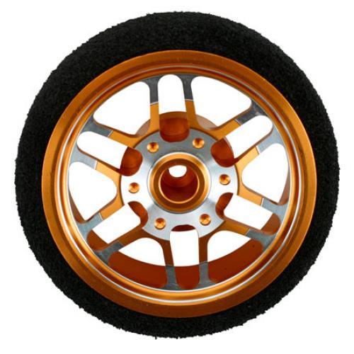 DX3R Custom Steering Wheel BBS Orange
