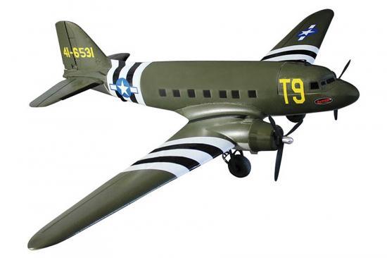Dynam C47 Dakota Twin USAF 1470mm V2 - PNP