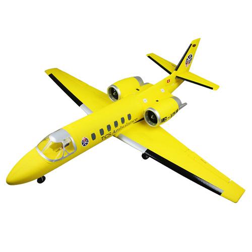 Dynam Cessna 550 Swiss Turbo Jet 1180mm - ARTF