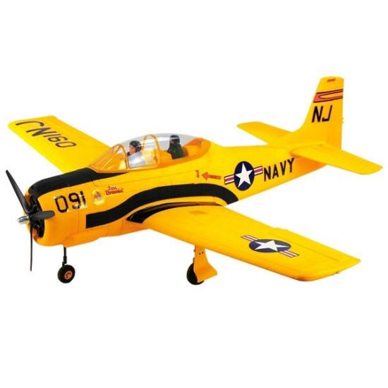 Dynam T28 Trojan 1270mm With Retracts V2 - Yellow