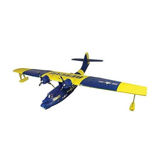 Dynam PBY Catalina Twin V2 PNP - Blue / Yellow