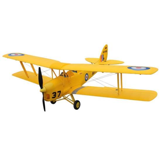Dynam Tiger Moth Biplane V2 1270mm - ARTF