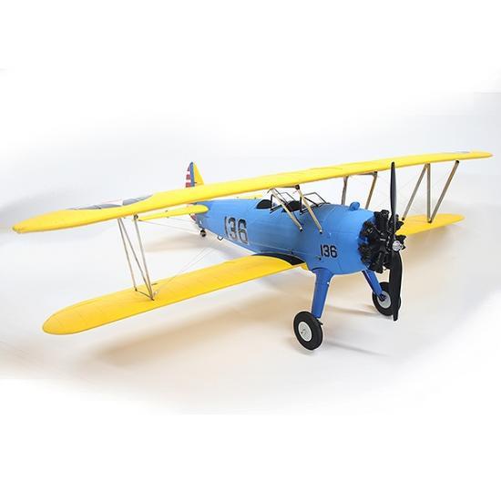 Dynam PT-17 1300mm ARTF - Blue/Yellow