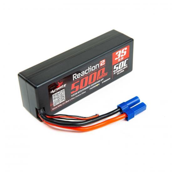 11.1V 5000mAh 3S 50C LiPo - Hardcase: EC5