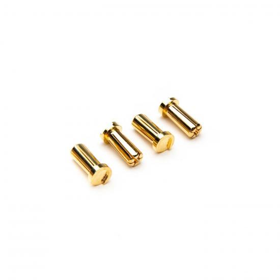 5mm Low Profile Bullet Connectors (4)