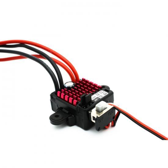 Dynamite Waterproof 60 Amp Forward and Reverse Brushed ESC With EC3 Connector