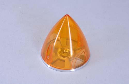 Transparent Spinner 63mm - Orange