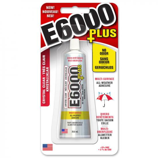 Eclectic E6000 Plus Clear 26.6ml