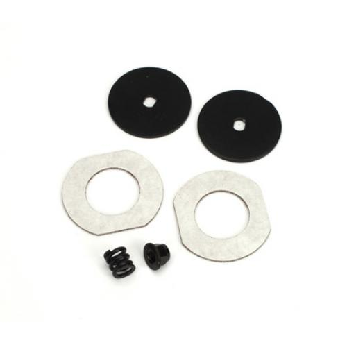 1/10 Stadium Truck Slipper Plates with Pads and Spring