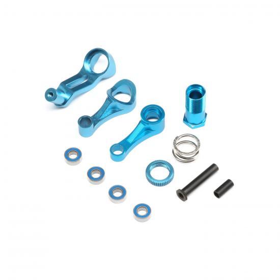 Steering w/Servo Saver Aluminium: 1:10 2WD ALL