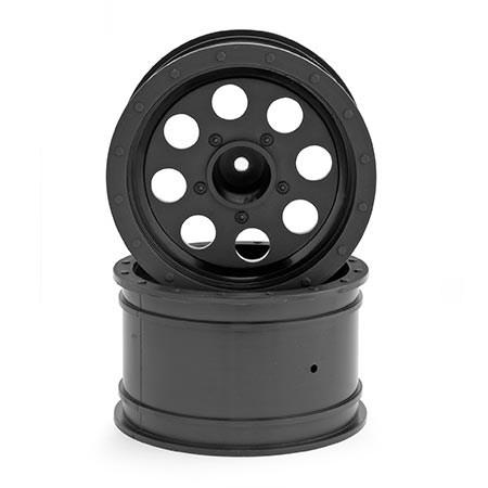 Ruckus Front/Rear Black Wheel (2)