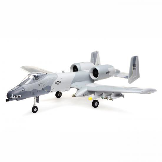 E Flite A-10 Thunderbolt II 64mm EDF - BNF Basic