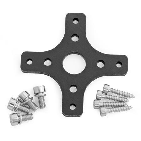 Carbon-Z Splendor Aluminium Motor Mount & Plastic Ring
