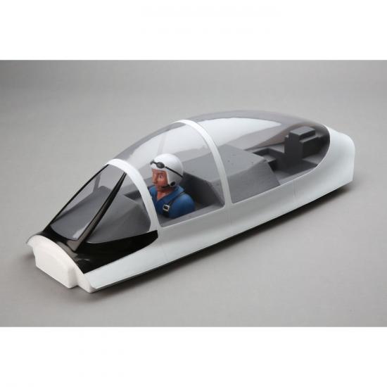 Canopy Hatch with Pilot: Carbon-Z T-28