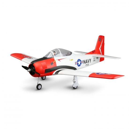 E Flite Carbon Z T-28 2.0m AS3X - BNF Basic