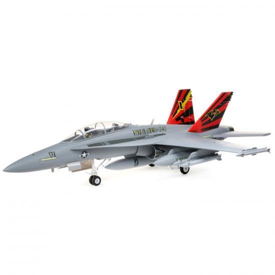 E Flite F-18 Hornet 80mm EDF AS3X - BNF Basic