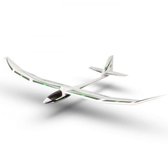 E Flite Radian XL 2.6m Glider - BNF Basic