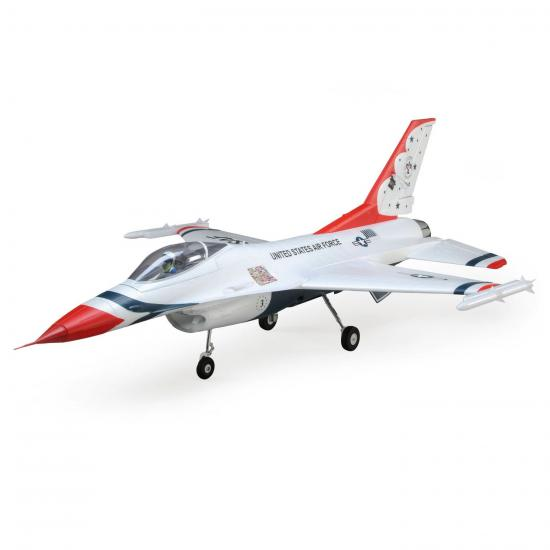 E Flite F-16 Thunderbirds 70mm EDF Jet - PNP