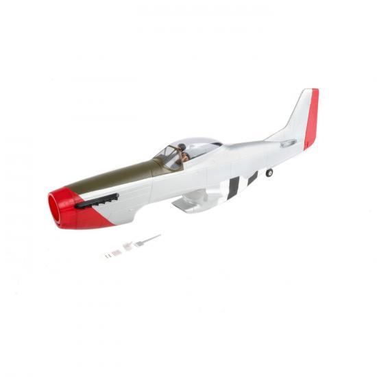 Painted Fuselage w/Hatch: P-51D 1.2m