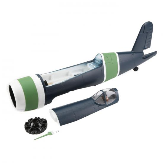 Fuselage w/hatch: F4U-4 1.2M