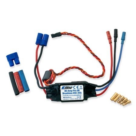 E Flite 30 Amp Pro Switch Mode BEC Brushless ESC (V2)