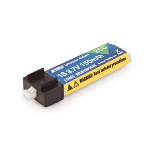 E Flite 3.7v 1S 150mAh 25C LiPo Battery