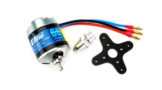 Power 60 Brushless Outrunner Motor - 470Kv