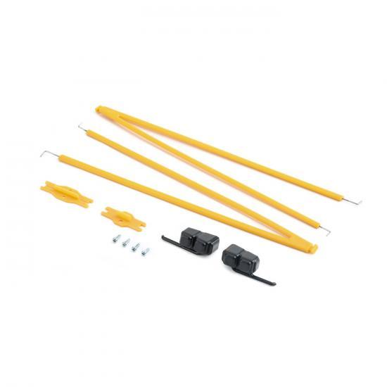 Plastic Parts Set w/ screws: UMX J-3 BL