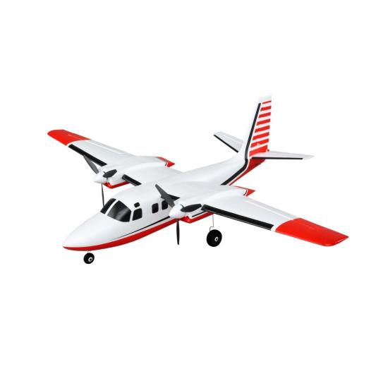E Flite Aero Commander UMX AS3X - BNF Basic